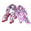 Merino Wool Printed Scarves