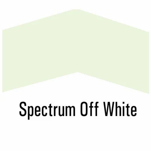Spectrum Off White Roofing Sheets, कलर कोटेड रूफिंग शीट ...