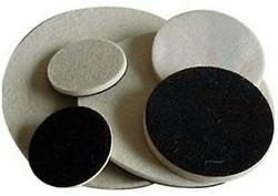 Velcro felt wheels