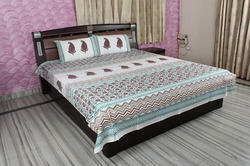 Block Print Cotton Bed Sheet