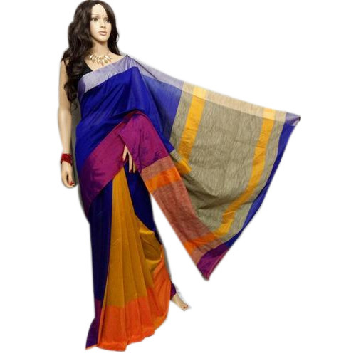 3081049047 Party Wear Printed Ghicha Saree, Rs 950 /piece, Vibhusha Boutique ...