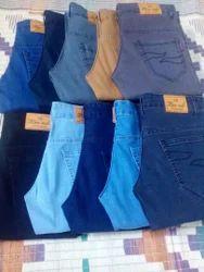 Cotton/Linen Lycra Jeans