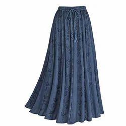 Casual Women's Long Skirt