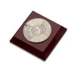 50 Years Calender Paper Weight