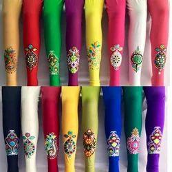 Embroidery Designer Leggings