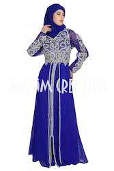Dubai Style Wedding Caftan Islamic Dress