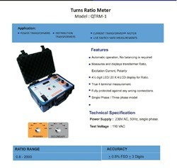 NMC Transformer Turns Ratio Tester, TTR-2K