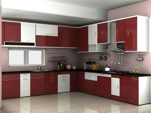 Multicolor Mithra Pvc Modular Kitchen Cabinets Rs 250 Square Feet Id 18094371733