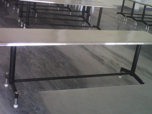 Stainless Steel Natural Dinning Tables For Marriage Halls