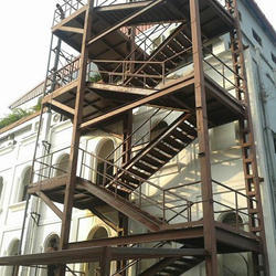 Attrayant Iron Staircase