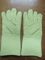 Large Green Para Aramid Hand Gloves