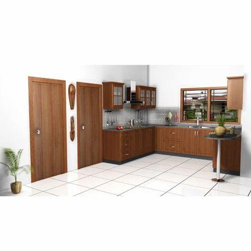 L Wooden Modular Kitchen Manufacturer: Modular Kitchen And Wooden Furnitures Manufacturer