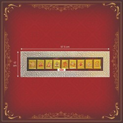 Gold Plated Wood Decorative Picture Frame