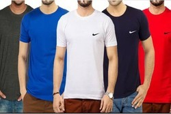 Mens Half Sleeve Round Neck Printed T-Shirts