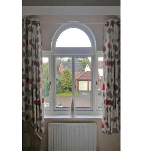Upvc Arched Windows Upvc Arch Window Manufacturer From