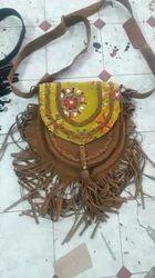 Ladies Saide Leather Bag