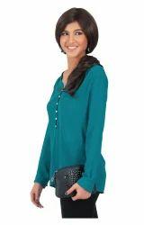 Green Casual Shirts