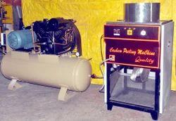Automatic Cashew Nut Peeling Machine with 10 Hp compressor