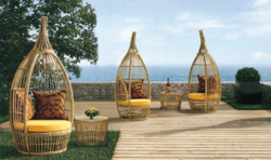 Nest Style 2 Outdoor Wicker Coffee Set