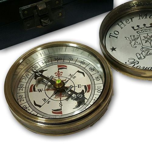 Compass Vintage World marine Master Box