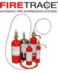 Fire Trace Fire Suppression System for Commercial