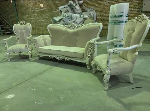 green antique sofa wooden sofa and set wholesaler trader from saharanpur