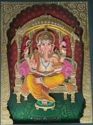 Ganesha 3D Painting