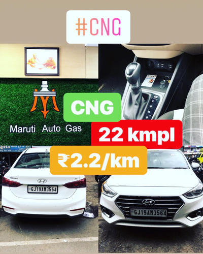 Hyundai Verna 2018 Cng Sequential Kit Installation In Hirabaug