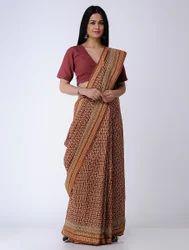 Bagh Printed Cotton Saree
