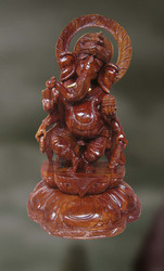Wood Sculpture Of Lord Ganesha ( Varaganapati)