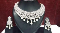 Designer Pearl Bridal Set