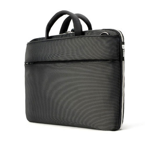 Black Plain Modern Laptop Bag ebf88db6a8a2