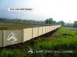 Folding Precast Compound Wall