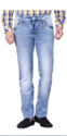 Ice Wash Jeans