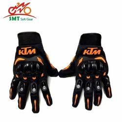 Black And BLUE KTM Gloves