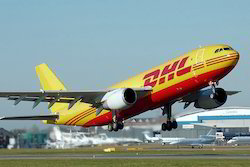 DHL International Air Freight Courier Services