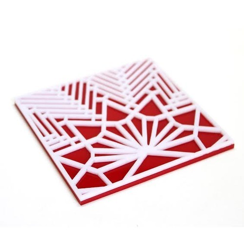 8df90b28e5 Acrylic Laser Cut Lotus Coaster Set at Rs 549 /piece(s) | Acrylic ...