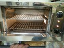 Pizza Oven Mirror Finishing Stainless Steel Body