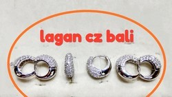 925 Sterling Silver Cz Bali