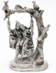 Metal God Statue