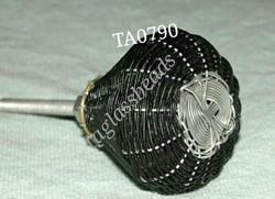 Handmade Wire Knot Drawer Pull Wardrobe Knob
