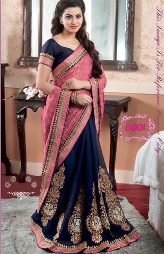 af28dbe6cd7c94 Georgette Bollywood Designer Party Wear Saree, Rs 1040 /piece | ID ...