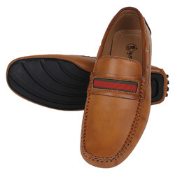 Driving Loafer Shoes - Tan