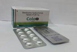 Betahistine Hydrochloride Tablets 8mg, 16mg, 24mg Tablets