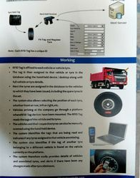 Truck Tyre Tracking System With Rfid