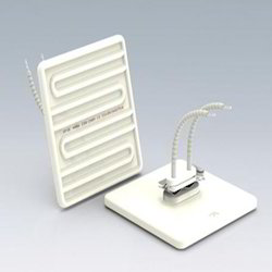 Square Flat Solid Element Ceramic Infrared Heaters