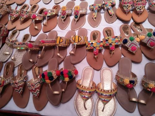 faf10f97b7c875 Ladies Flat Sandals - Enthenic Designer Colection Ladies Sandal ...