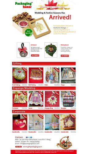 Emailer Design, E-mailer Designing Service - LassoArt Designs ...