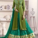 Indo - Western Dress Material