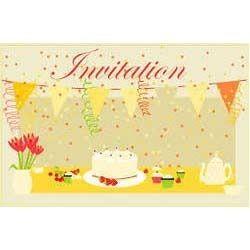 birthdays invitation cards